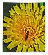 Gathering Nectar Fleece Blanket