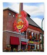 Gatlinburg Hard Rock Cafe Fleece Blanket