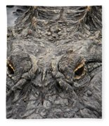 Gator Eyes Fleece Blanket