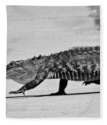 Gator Walking Fleece Blanket