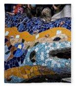 Gaudi Dragon Fleece Blanket