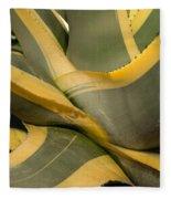 Gave Cactus Fleece Blanket