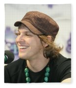 Gavin Degraw Fleece Blanket