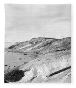Gay Head Cliffs, C1903 Fleece Blanket