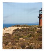 Gay Head Lighthouse Fleece Blanket