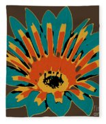 Gazania Fleece Blanket