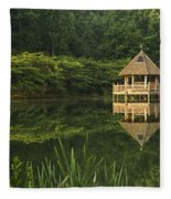 Gazebo Reflections Fleece Blanket