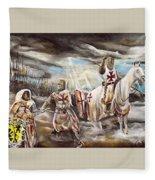 Gbh God Blood Honour Fleece Blanket