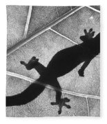 Gecko Shadow Fleece Blanket