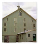 General And President Dwight D. Eisenhower Old Barn Fleece Blanket