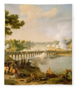 General Bonaparte Giving Orders At The Battle Of Lodi Fleece Blanket