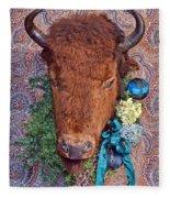 General Crook's Bison Fleece Blanket