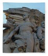 General George Meade Memorial -- Right Side Fleece Blanket