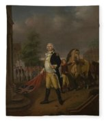 General Humphreys Delivering Fleece Blanket