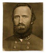 General Stonewall Jackson 1871 Fleece Blanket