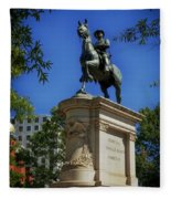 General Winfield Scott Hancock Statue - Washington Dc Fleece Blanket