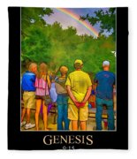 Genesis 9 Fleece Blanket