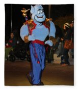 Genie With Moves Fleece Blanket