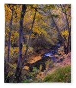 Genil River Fleece Blanket