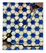 Geographic Tile Fleece Blanket