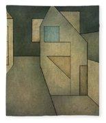 Geometric Abstraction II Fleece Blanket