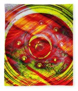 Geometric Colors  Fleece Blanket