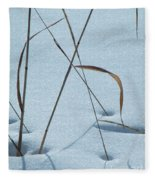 Geometry Grass Fleece Blanket
