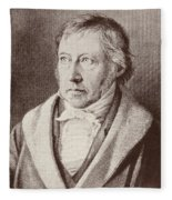 Georg Hegel  Fleece Blanket