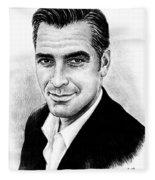 George Clooney Fleece Blanket