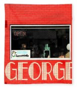 George Diner Fleece Blanket