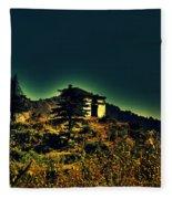 George Everest Observatory Fleece Blanket