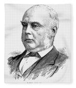 George Glyn (1824-1887) Fleece Blanket