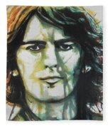 George Harrison 01 Fleece Blanket