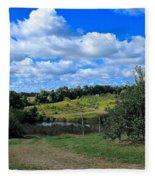 George Hill Orchard Fleece Blanket