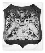 George IIi: Coat Of Arms Fleece Blanket