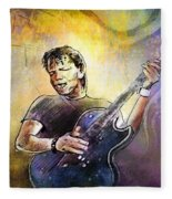George Thorogood In Cazorla In Spain 02 Fleece Blanket