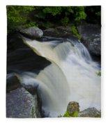 George W Childs Park Waterfall Fleece Blanket