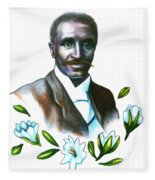 George Washington Carver Fleece Blanket