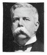 George Westinghouse (1846-1914) Fleece Blanket