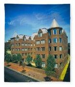 Georgetown Apartments - 1980s Fleece Blanket