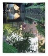 Georgetown Canal Reflections Fleece Blanket