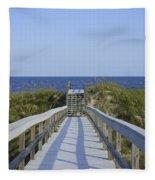 Georgia Boardwalk Fleece Blanket