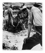 Georgia Prison Guard, 1941 Fleece Blanket