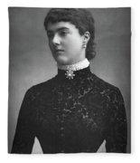 Georgina Ward (1846-1929) Fleece Blanket