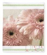 Gerber Daisy Dream 3 Fleece Blanket