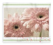 Gerber Daisy Happiness 3 Fleece Blanket