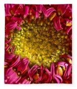 Gerbera Fleece Blanket