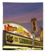 German Fries Topsfield Fair Fleece Blanket