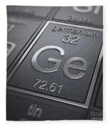 Germanium Chemical Element Fleece Blanket