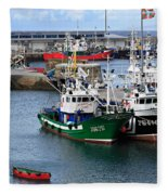 Getaria Fishing Fleet Fleece Blanket